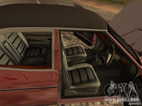 Ford Cortina MK 3 2000E for GTA San Andreas back view