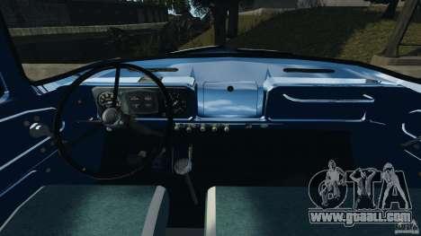ZIL-431410 1986 v1.0 for GTA 4 back view