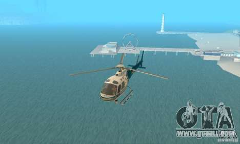 AS350 Ecureuil for GTA San Andreas