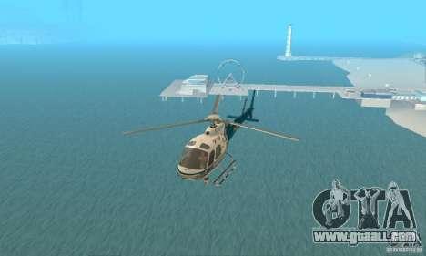 AS350 Ecureuil for GTA San Andreas