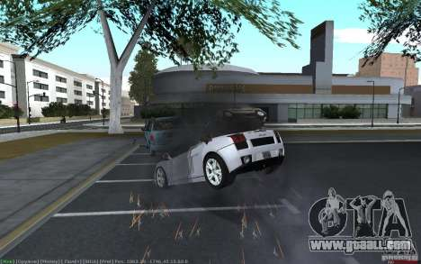 Realistic accident for GTA San Andreas third screenshot