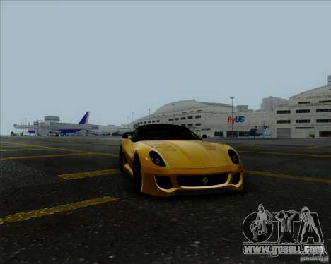 Ferrari Challenge-2009 599XX for GTA San Andreas right view