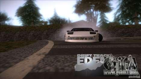 Edem Hill Drift Track for GTA San Andreas forth screenshot