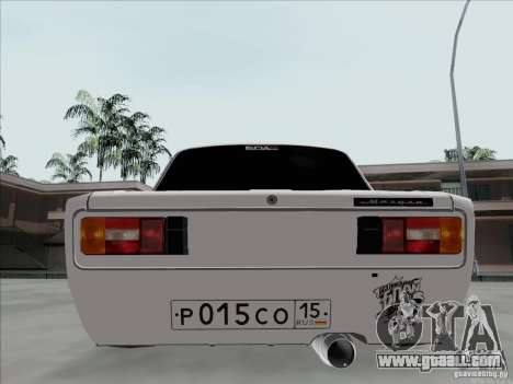 VAZ 2106 BPAN for GTA San Andreas back view