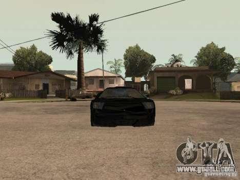 GTA4 Infernus for GTA San Andreas right view