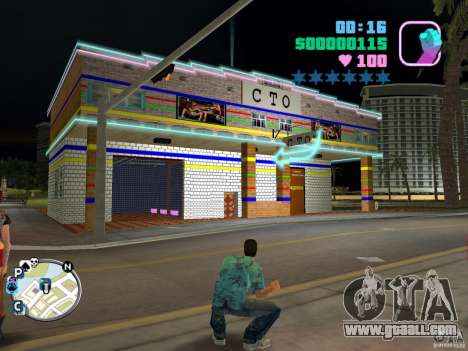 ONE HUNDRED No. 1-car service for GTA Vice City