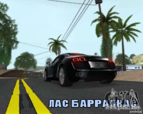 Enb series by LeRxaR for GTA San Andreas fifth screenshot