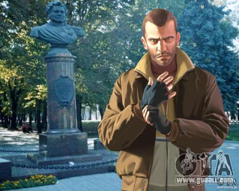Loading screens City Stavropol for GTA 4 fifth screenshot