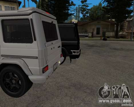 Mercedes-Benz AMG G55 (W463) 2008 SE for GTA San Andreas back view