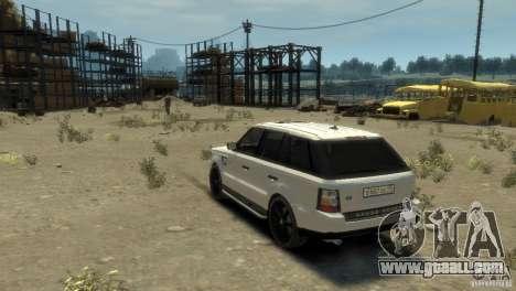 Land Rover Range Rover Sport for GTA 4 left view