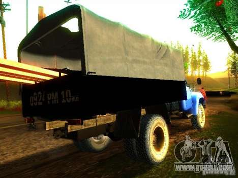 ZIL 431410 for GTA San Andreas back left view