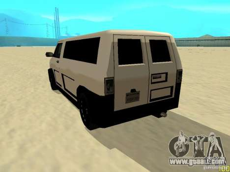 Burrito by W1nstoN for GTA San Andreas left view