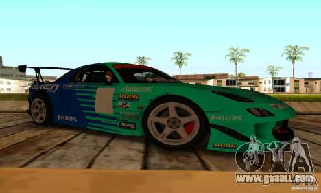 Mazda RX7 Falken edition for GTA San Andreas left view