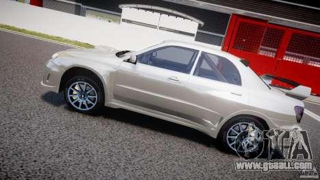 Subaru Impreza STI Wide Body for GTA 4 engine