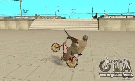 CUSTOM BIKES BMX for GTA San Andreas right view