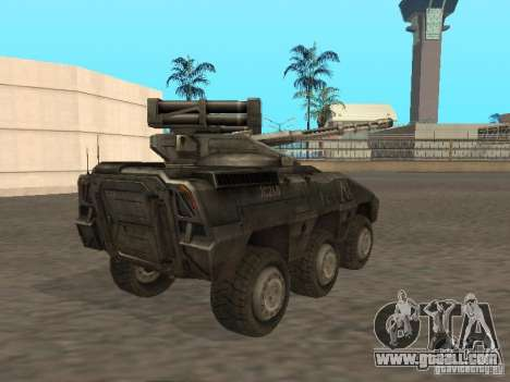 APC Anti-Air for GTA San Andreas back left view