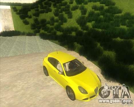 Alfa Romeo Giulietta QV 2011 for GTA San Andreas right view