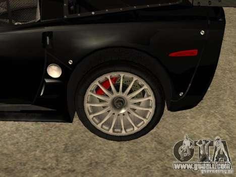 Chevrolet Corvette C6.R for GTA San Andreas right view