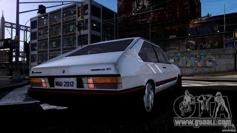 Volkswagen Passat Pointer GTS 1988 Turbo for GTA 4 back view