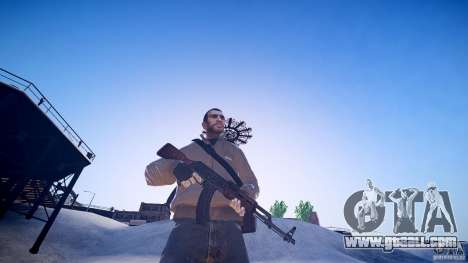 The new AK-47 for GTA 4