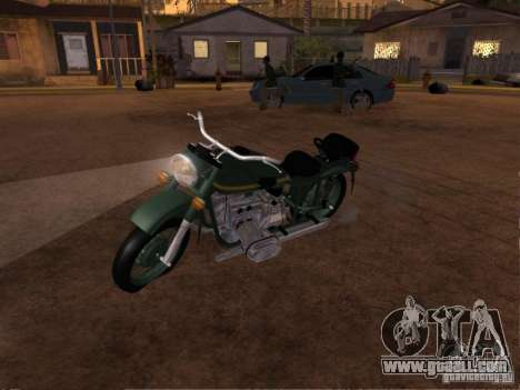Ural m-67 36 for GTA San Andreas back left view