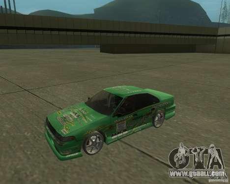 Nissan Cefiro A31 (D1GP) for GTA San Andreas back left view