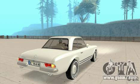 Mercedes-Benz 280SL (glossy) for GTA San Andreas left view