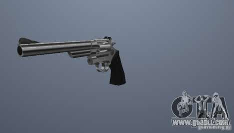 K.44 Magnum (Chrome) for GTA San Andreas