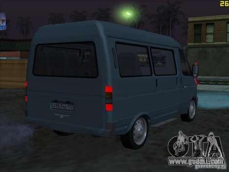 22172 Sable GAS for GTA San Andreas
