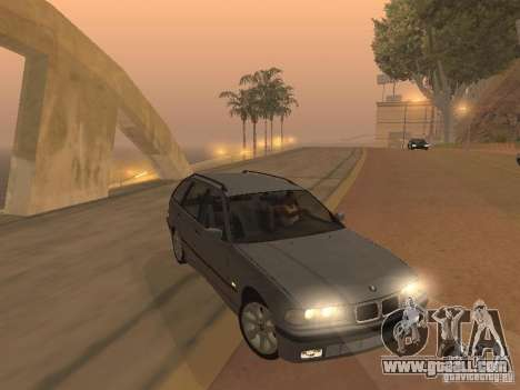 BMW 318 Touring for GTA San Andreas back left view