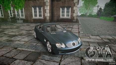 Mercedes Benz SL65 AMG V1.1 for GTA 4 inner view