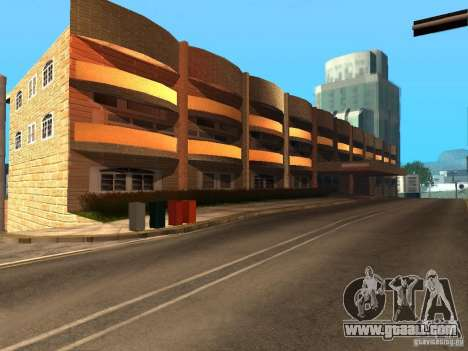 New street Mulholland for GTA San Andreas