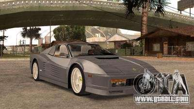 Ferarri Testarossa 1991 for GTA San Andreas