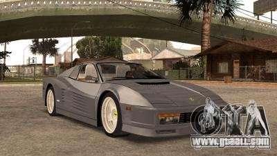 Ferarri Testarossa 1991 for GTA San Andreas