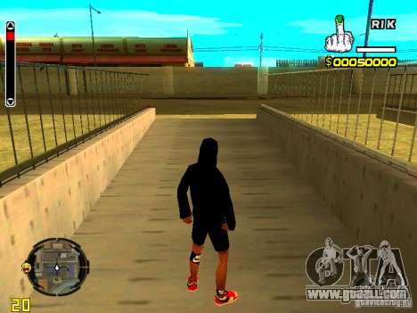 Skin bum v7 for GTA San Andreas second screenshot