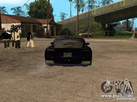 TVR Sagaris for GTA San Andreas back view