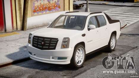 Cadillac Escalade Ext for GTA 4 right view
