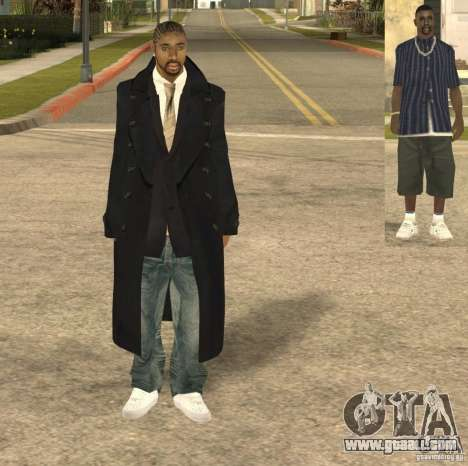 Casual Man for GTA San Andreas second screenshot