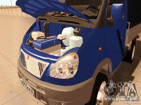 3302 Gazelle for GTA San Andreas inner view
