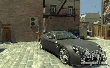 Alfa Romeo 8C Competizione v1 for GTA 4 back view
