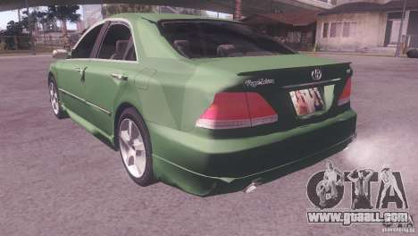 Toyota Crown for GTA San Andreas back view