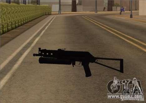 Pak Domestic weapons version 6 for GTA San Andreas sixth screenshot