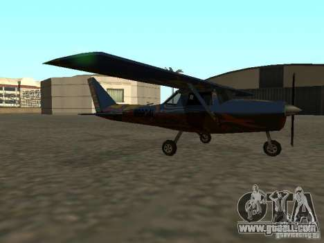 A new plane-Dodo for GTA San Andreas left view
