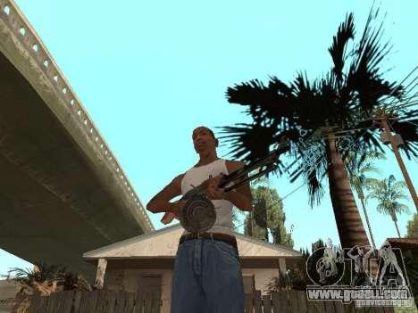 Light Machine Gun Dâgterëva for GTA San Andreas second screenshot
