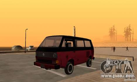 Volkswagen T3 Rusty for GTA San Andreas