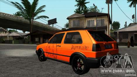 VW Golf 2 for GTA San Andreas side view