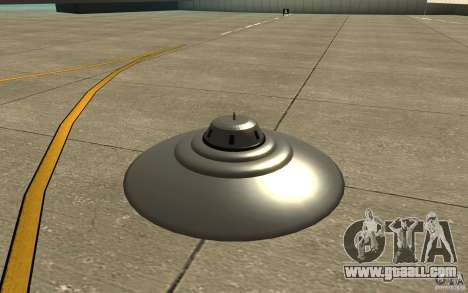 Bob Lazar Ufo for GTA San Andreas left view