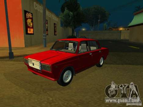 VAZ 2107 for GTA San Andreas