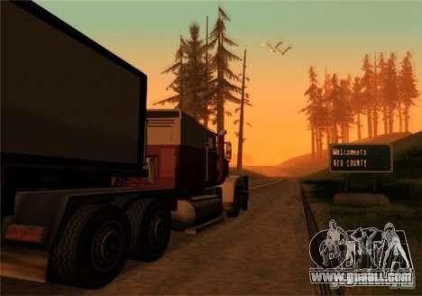 Trucking v2.0 for GTA San Andreas second screenshot