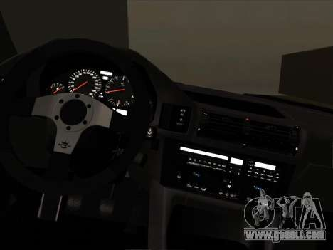 BMW M5 E34 NeedForDrive for GTA San Andreas inner view